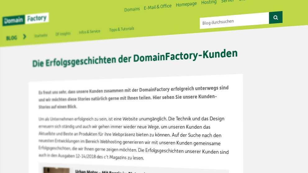 Wegen DSGVO-Panne: Domainfactory-Kundendaten waren als XML-Feed offen im Netz
