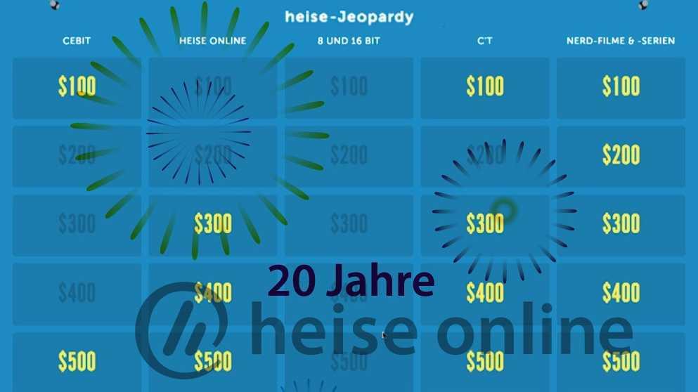 heise-User-Party: Die letzten Jeopardy