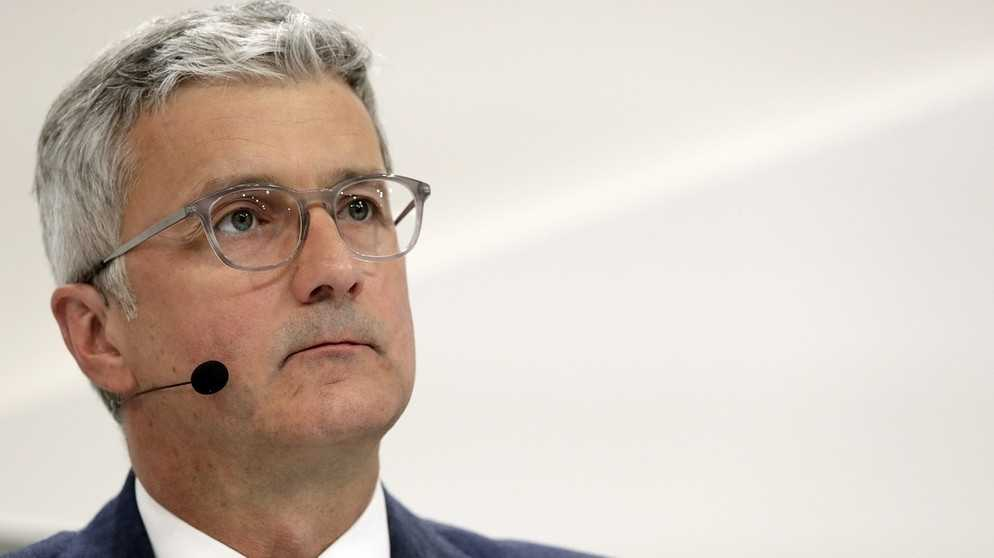 Festnahme des Audi-Chefs: Justiz wollte Zeugenbeeinflussung verhindern