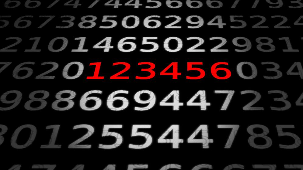 """Zahlen bitte! Das Problem mit der """"123456"""""""