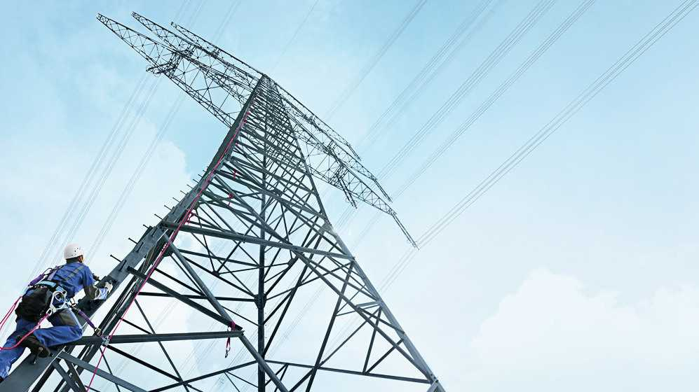 Stromtrasse, Hochspannungsmast, Strommast