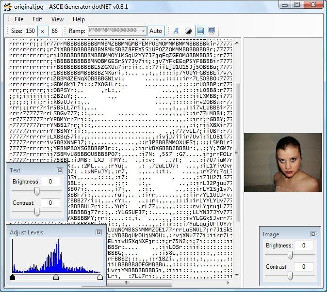 Ascii code bilder