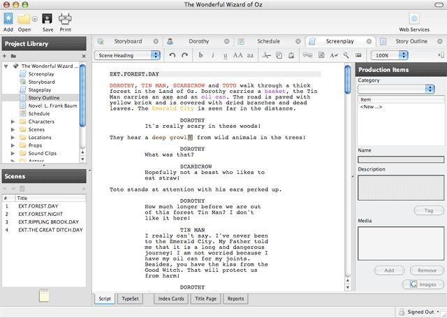 Drehbuch schreiben programm kostenlos