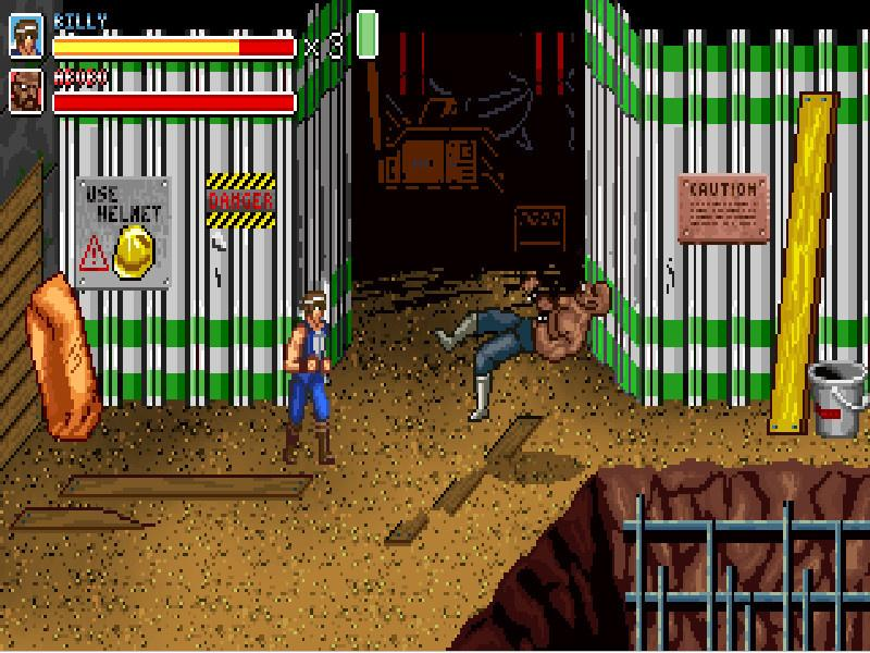 Double Dragon Fists Of Rage Heise Download