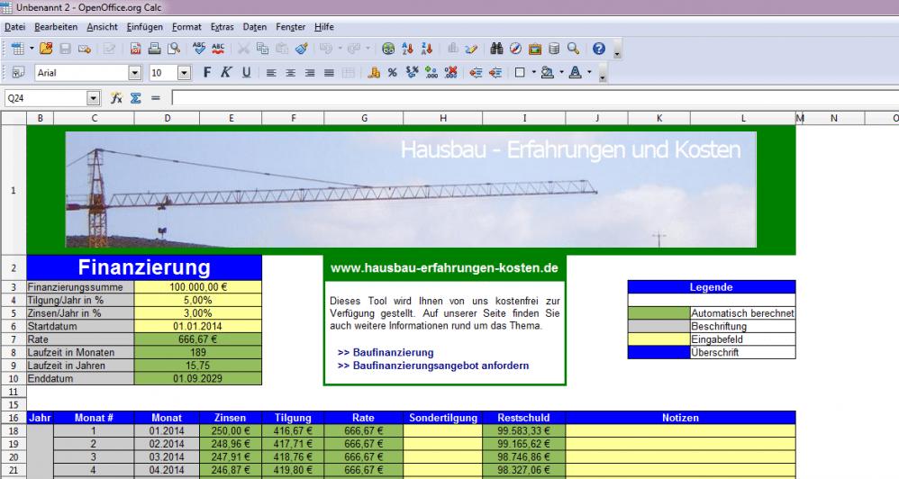 Darlehens und annuitätenrechner excel-inside solutions.
