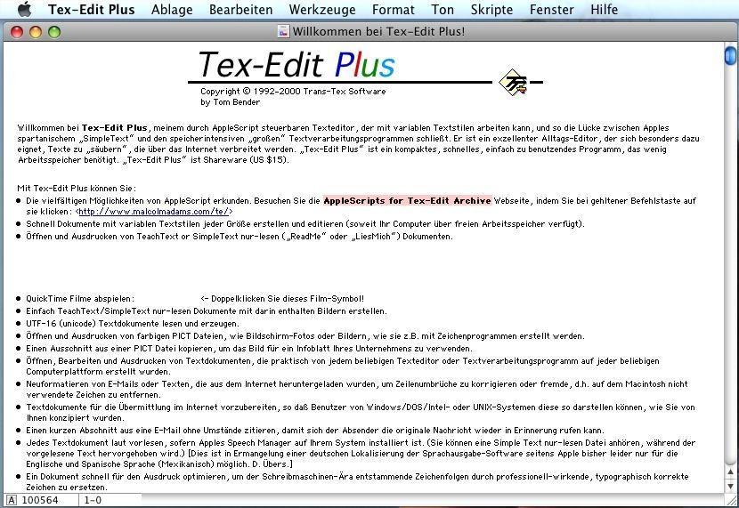 Text lese programm
