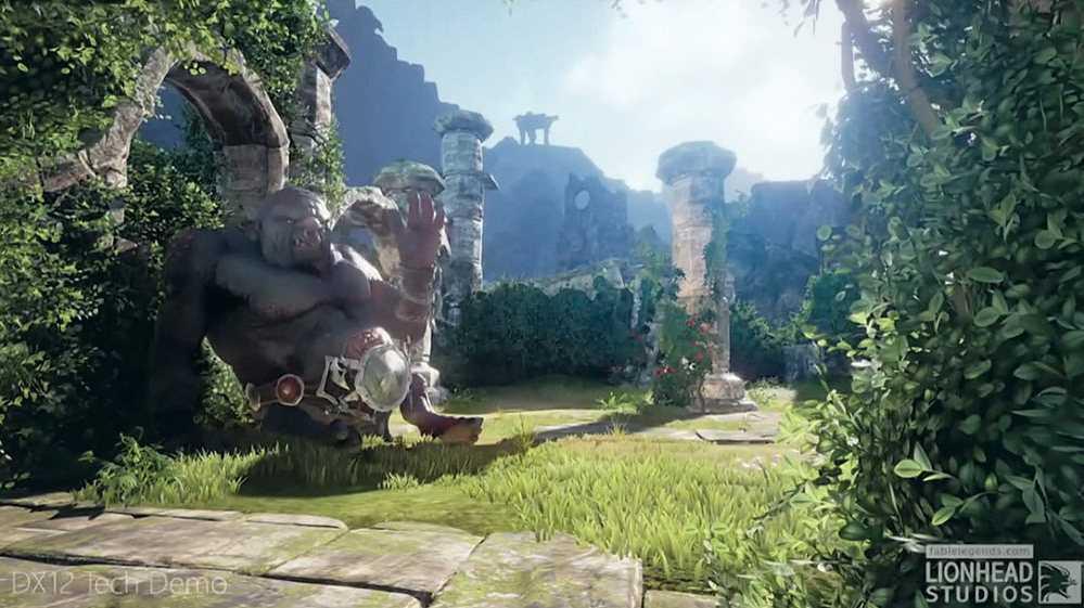 DirectX 12 Tech Demo von Fable Legends
